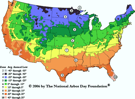 This Is The Newest Updated Hardiness Zone Map For The U S